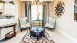 Positano 1 Villa rental near Disney with Seating area in entrance hallway