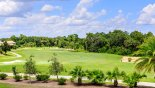 Positano 1 Villa rental near Disney with View of 18th tee on Nicklaus golf course
