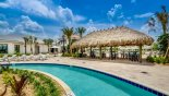 View of Tiki bar by the lazy river - www.iwantavilla.com is your first choice of Condo rentals in Orlando direct with owner