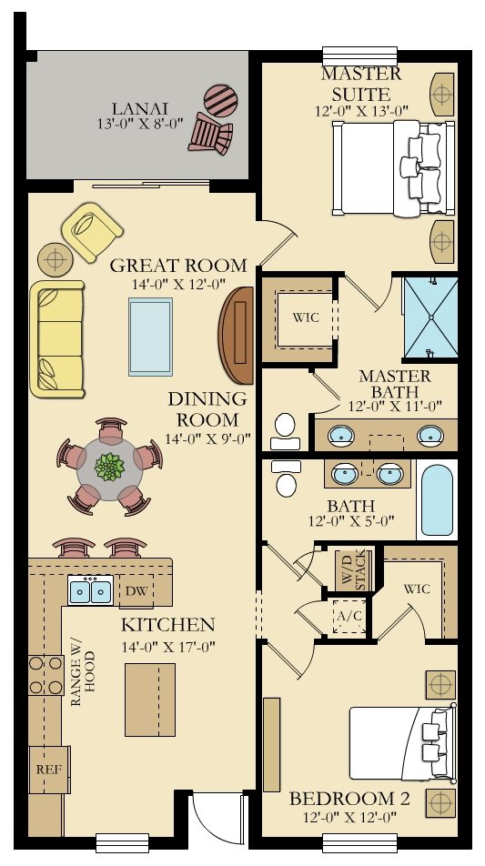 Milan 3 Floorplan