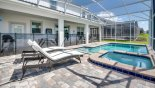 Villa rentals near Disney direct with owner, check out the Pool deck complete with child safety screen