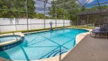 Villa rentals near Disney direct with owner, check out the Pool deck gets the sun all day