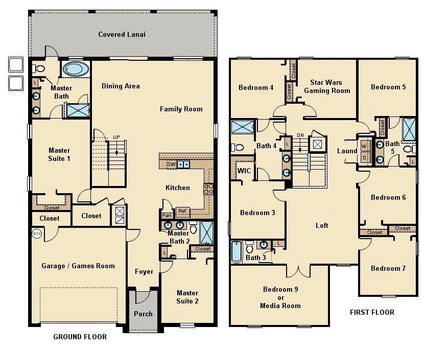 Maui 9 Floorplan