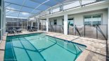 Orlando Villa for rent direct from owner, check out the Pool deck complete with child safety screen