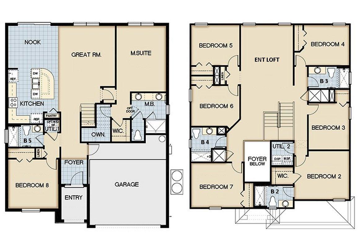 San Jose 1 Floorplan
