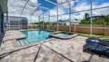 Orlando Villa for rent direct from owner, check out the Relaxing built in pool spa for you to enjoy after a long day at the parks