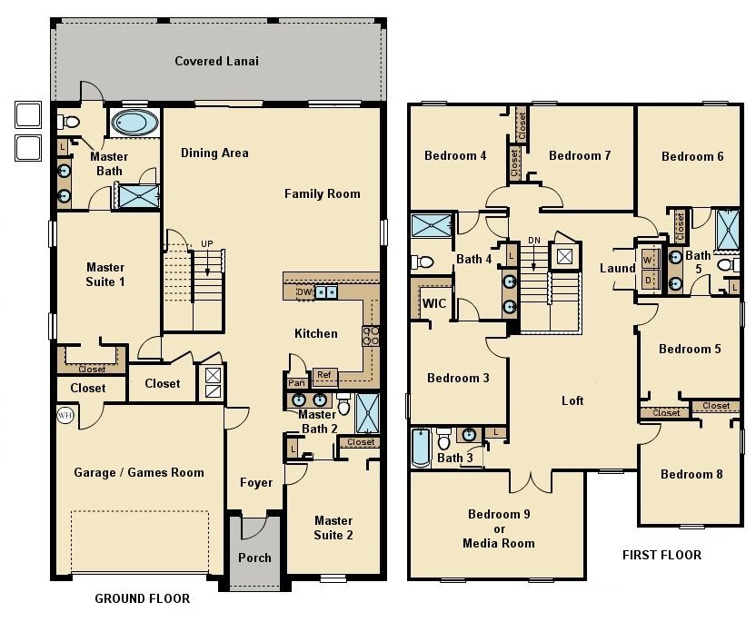 Maui 12 Floorplan