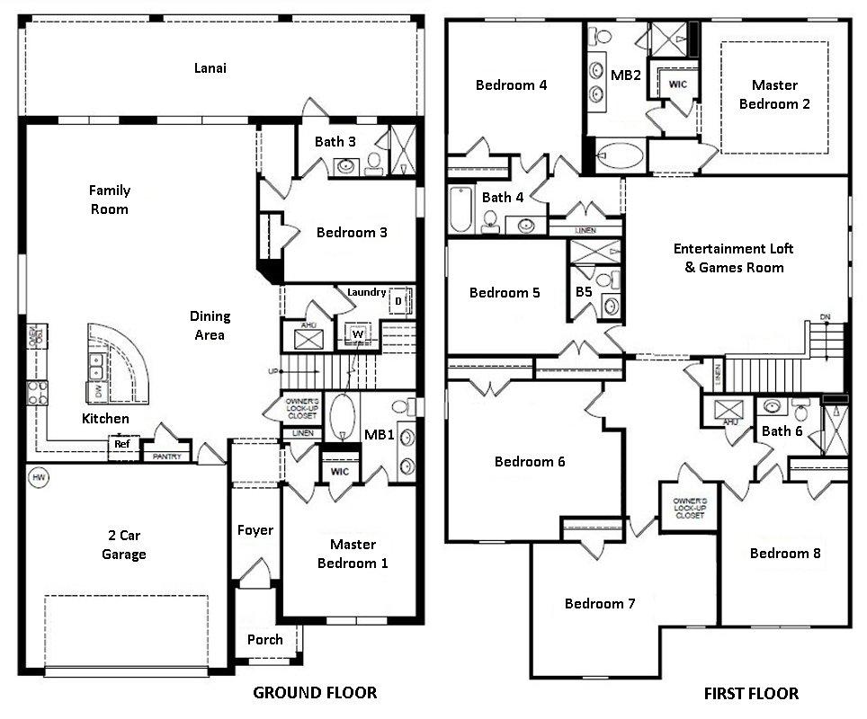 Marianas 1 Floorplan