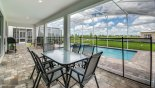 Villa rentals near Disney direct with owner, check out the Seating for 6 people under lanai