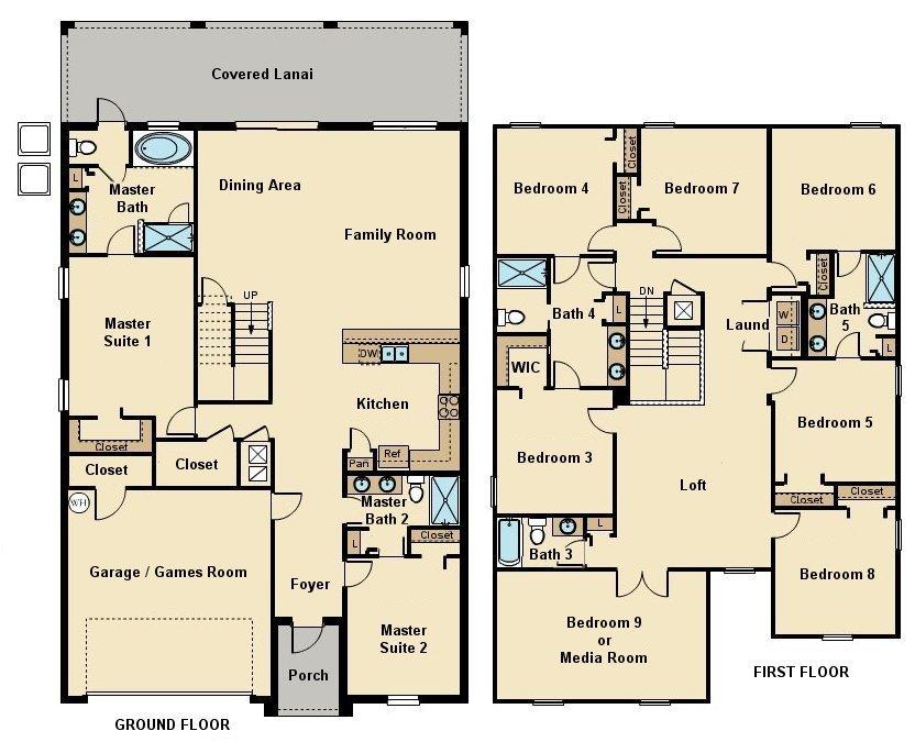 Maui 14 Floorplan