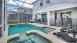 Villa rentals near Disney direct with owner, check out the Toddler safety guard on pool deck for your peace of mind