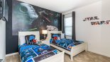 Montenegro 1 Villa rental near Disney with Twin bedroom #9 with Star Wars theming