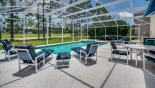 Birchwood 4 Villa rental near Disney with Sunny extended deck with golf course views