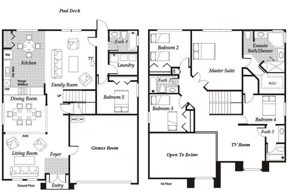 Birchwood 4 Floorplan