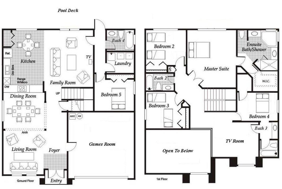 Birchwood 4 Floorplan