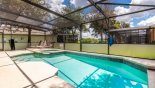 Villa rentals near Disney direct with owner, check out the Sunny east facing pool & spa
