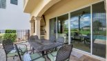 Alfresco dining is a must when in Florida with this Orlando Villa for rent direct from owner