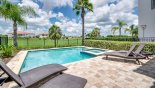 Crestview 6 Villa rental near Disney with Pool deck with 4 sun loungers