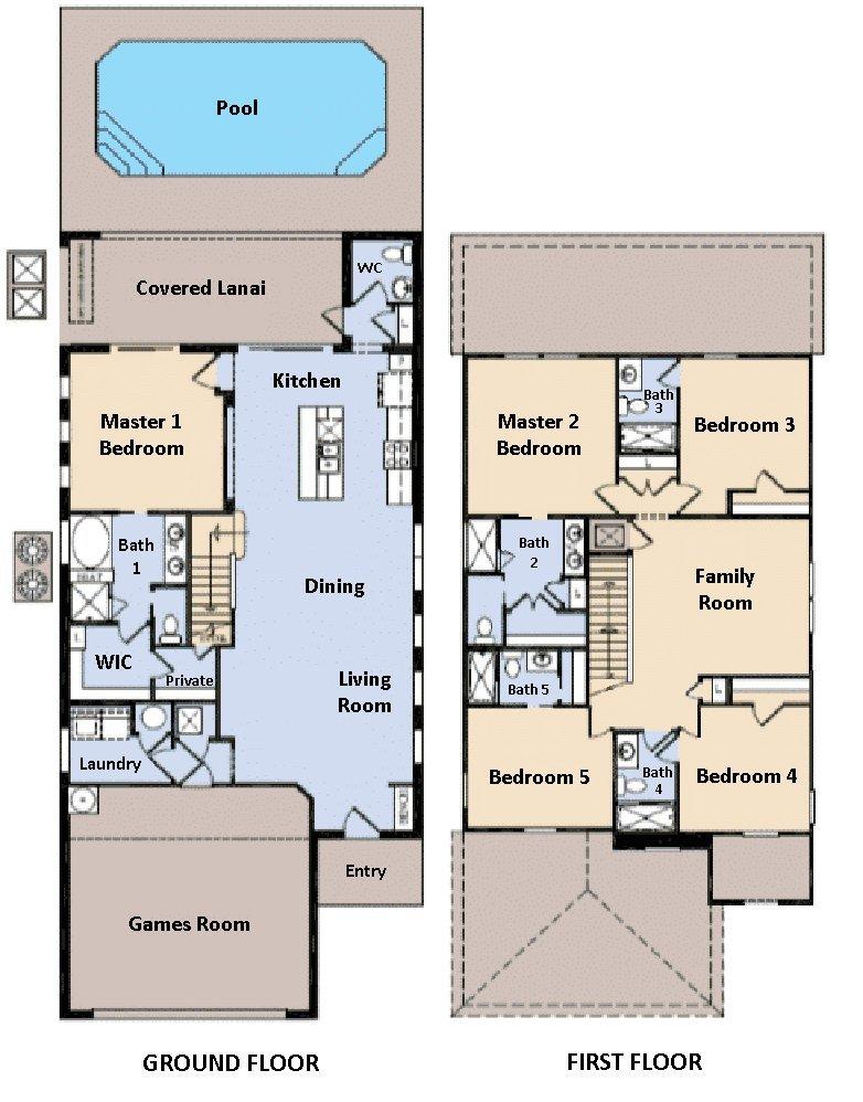 Lakeshore 1 Floorplan