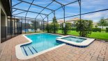 Villa rentals near Disney direct with owner, check out the Sunny north facing pool & spa