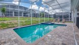 Sunny west facing pool & spa - www.iwantavilla.com is your first choice of Villa rentals in Orlando direct with owner