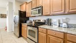 Villa rentals in Orlando, check out the Fully fitted kitchen with everything you could possibly need