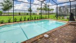 Large sunny pool deck captures the sun all day from Windsor at Westside rental Villa direct from owner