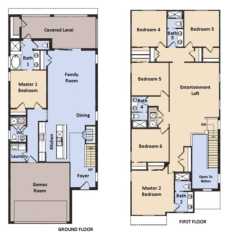 Hideaway 1 Floorplan