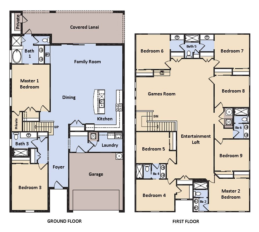 Clearwater 1 Floorplan