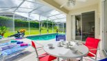 Villa rentals near Disney direct with owner, check out the View from lanai onto pool deck