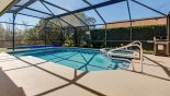 Sunny south-east facing pool & spa from Orange Tree rental Villa direct from owner