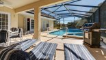 Villa rentals in Orlando, check out the The south facing, non overlooked pool and spa
