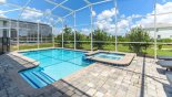 Fiji 8 Villa rental near Disney with Pool deck with raised spa