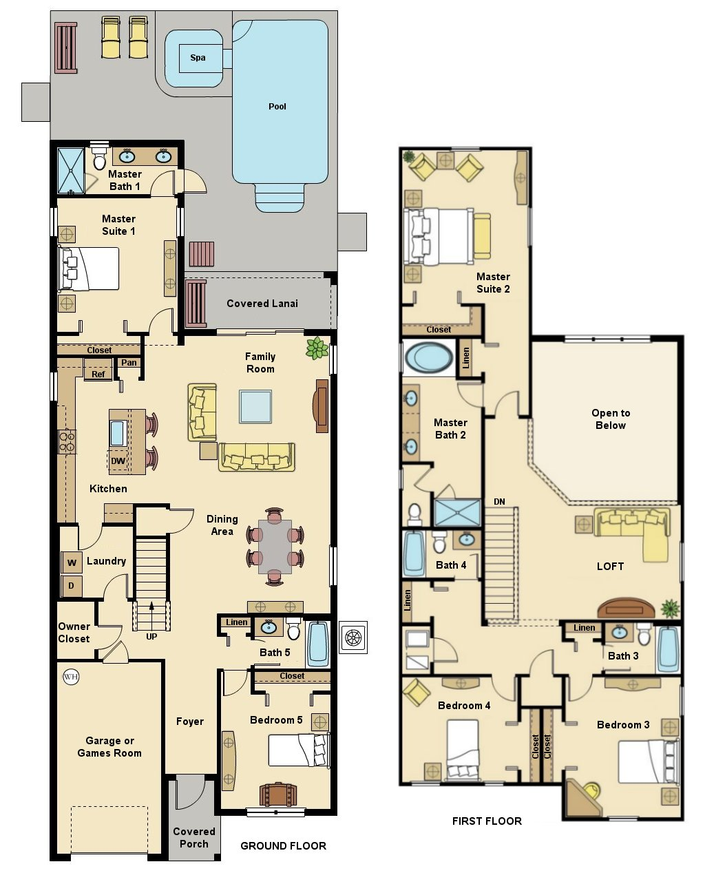 Alexander Palm 1 Floorplan