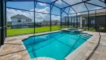 Orlando Villa for rent direct from owner, check out the Private enclosed west facing pool