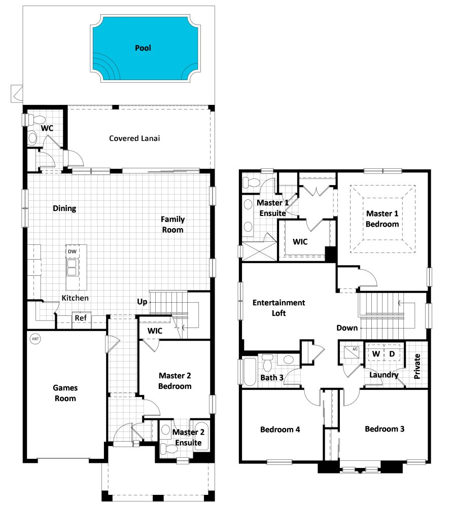 Cancun 1 Floorplan