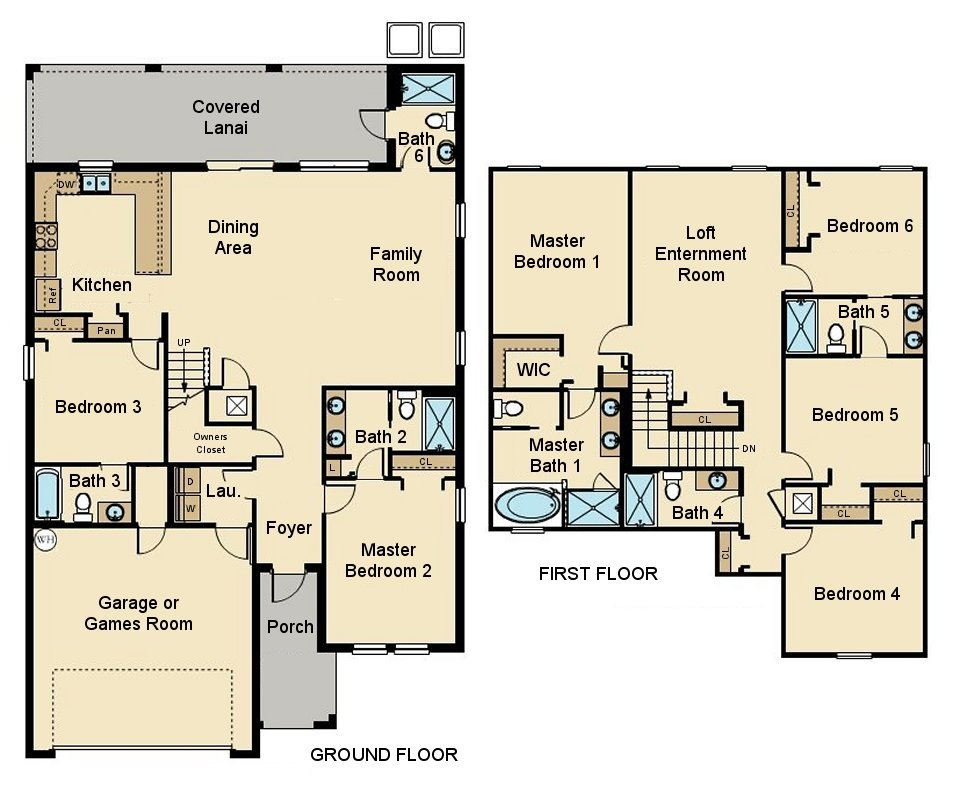 Cayman 3 Floorplan