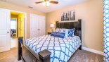 Eagle Bay 2 Villa rental near Disney with Bedroom #2 viewed towards Jack & Jill bathroom #2