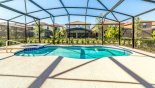 Sunny extended pool deck gets the sun all day - www.iwantavilla.com is your first choice of Villa rentals in Orlando direct with owner