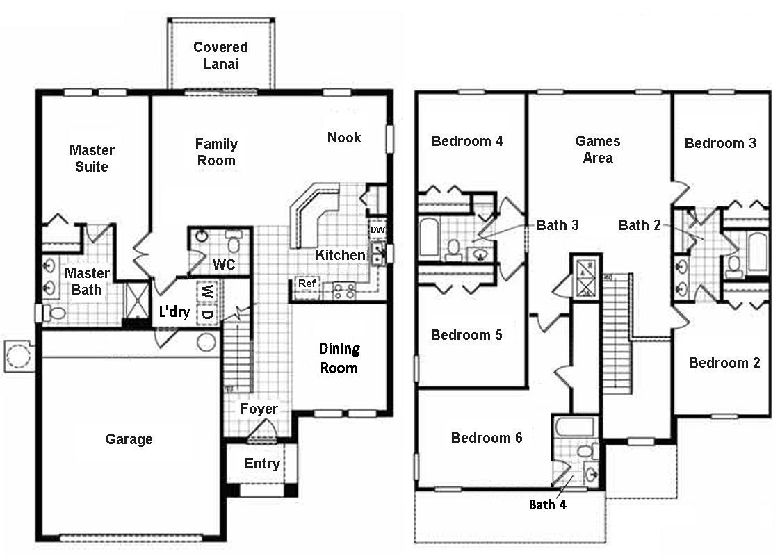 Eagle Bay 2 Floorplan