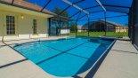 No close rear neighbours - www.iwantavilla.com is the best in Orlando vacation Villa rentals