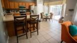 Spacious rental Windsor Hills Resort Villa in Orlando complete with stunning Fully fitted kitchen with all new quality stainless steel appliances & breakfast nook