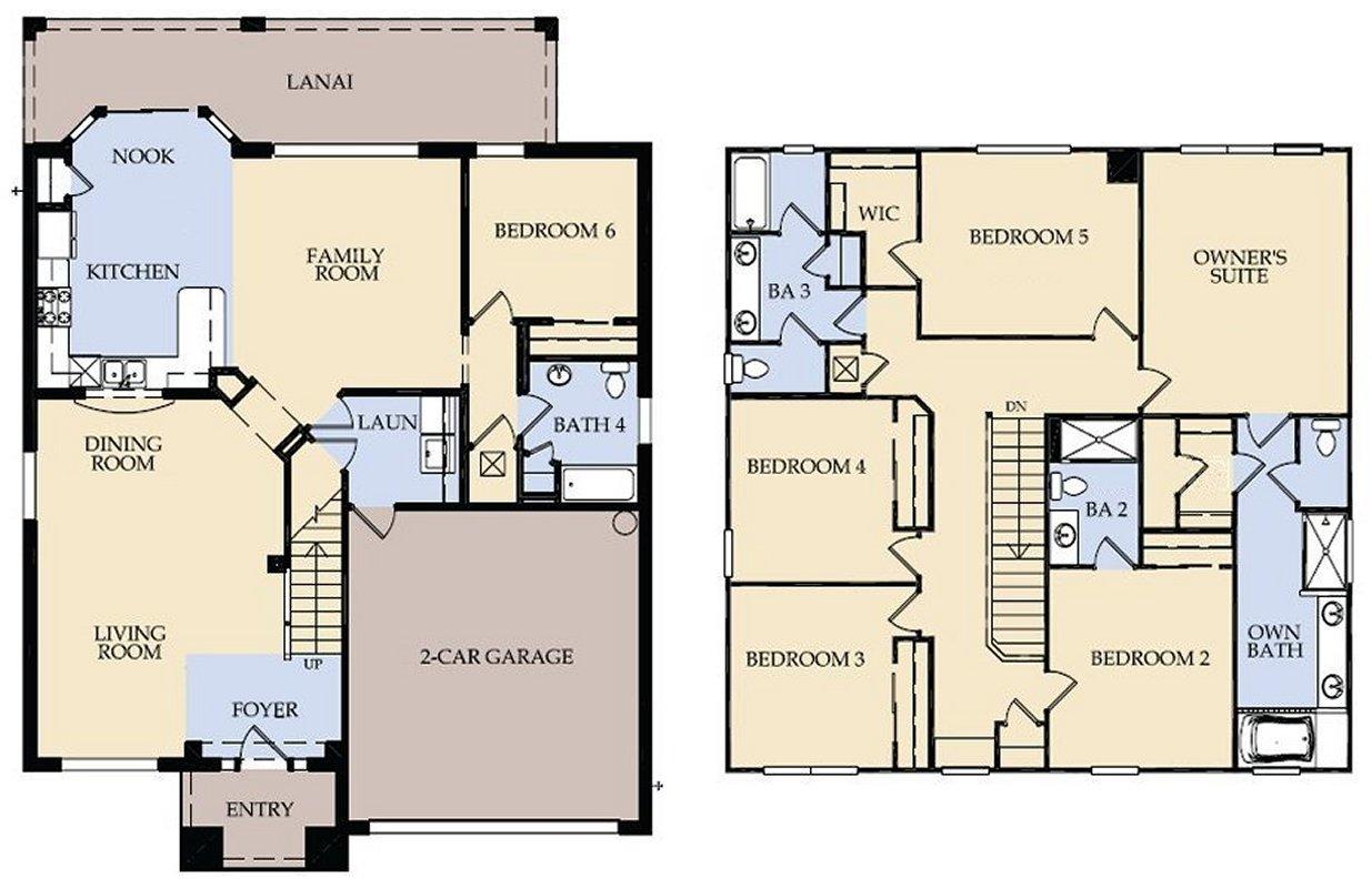 Brentwood 9 Floorplan