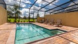 Townhouse rentals near Disney direct with owner, check out the Private south-east facing pool deck with open views