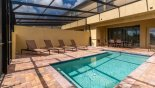 Totally private pool deck gets sun all day from Solterra Resort rental Townhouse direct from owner