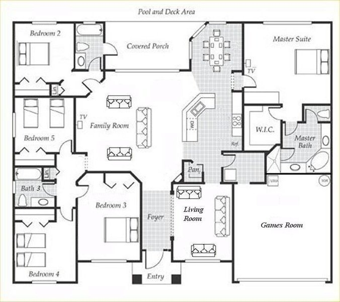 Emerald + 4 Floorplan