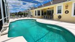 Villa rentals near Disney direct with owner, check out the View of pool and covered lanai
