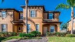 Spacious rental Regal Palms Resort Townhouse in Orlando complete with stunning View of townhouse from street