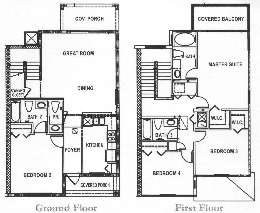Bermuda 1 Floorplan