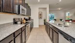 Fully equipped kitchen - you won't need for anything - www.iwantavilla.com is your first choice of Villa rentals in Orlando direct with owner